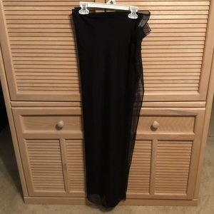 Black LeCove Sarong Bathing Suit Cover